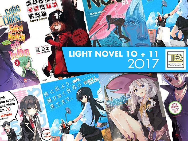 【LIGHT NOVEL】10+11/2017 – Tháng Này Mua Gì? (0)