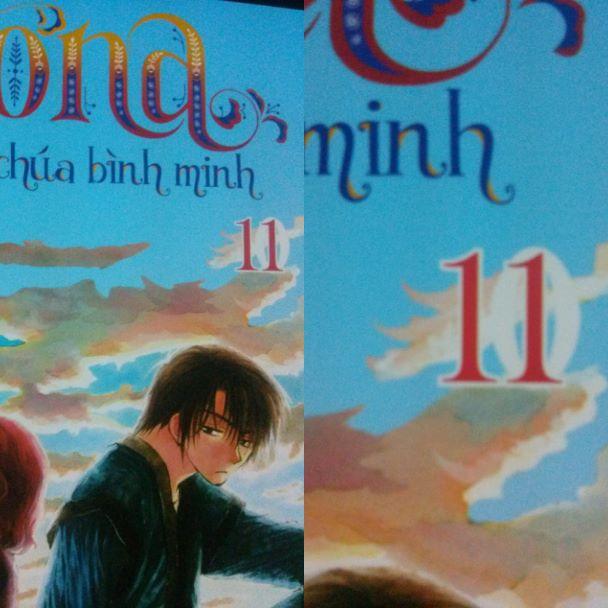 TBQ_【YONA CÔNG CHÚA BÌNH MINH 11】đã được in lại sau đợt lỗi bìa (2