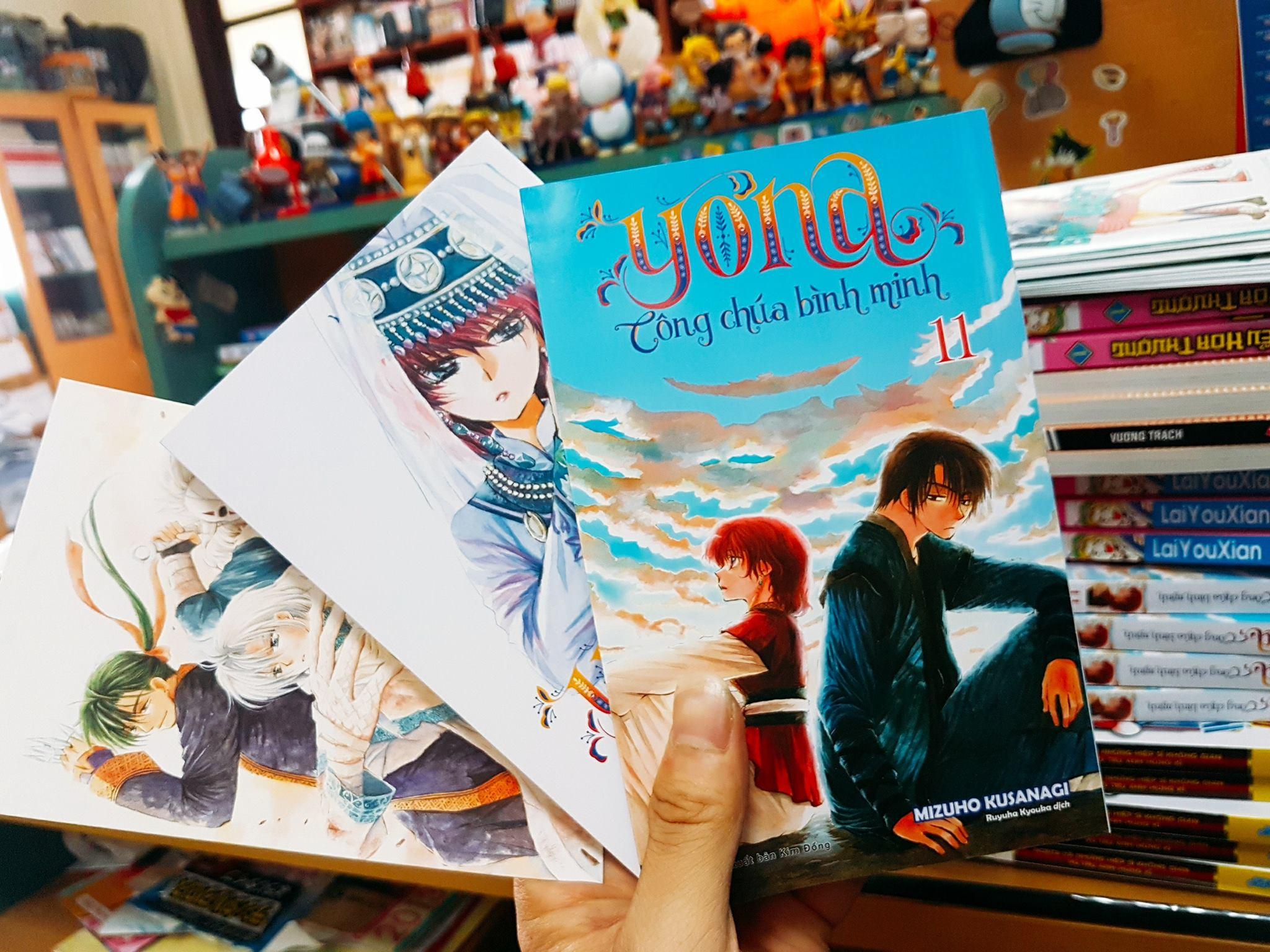 TBQ_【YONA CÔNG CHÚA BÌNH MINH 11】đã được in lại sau đợt lỗi bìa (1)