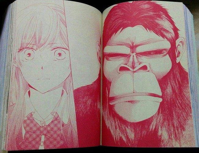 """【GENSHIJIN KARESHI】Chuyện tình """"kỳ lạ"""" giữa thiếu nữ và người vượn (3)"""