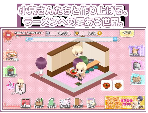 【RAMEN DAISUKI KOIZUMI-SAN】sẽ có Game riêng (2)