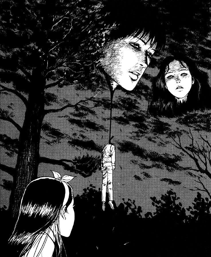 15 tác phẩm kinh dị của【ITOU Junji】mà bất kì fan thể loại horror cũng nên đọc (12