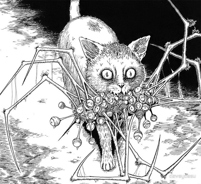 15 tác phẩm kinh dị của【ITOU Junji】mà bất kì fan thể loại horror cũng nên đọc (08)
