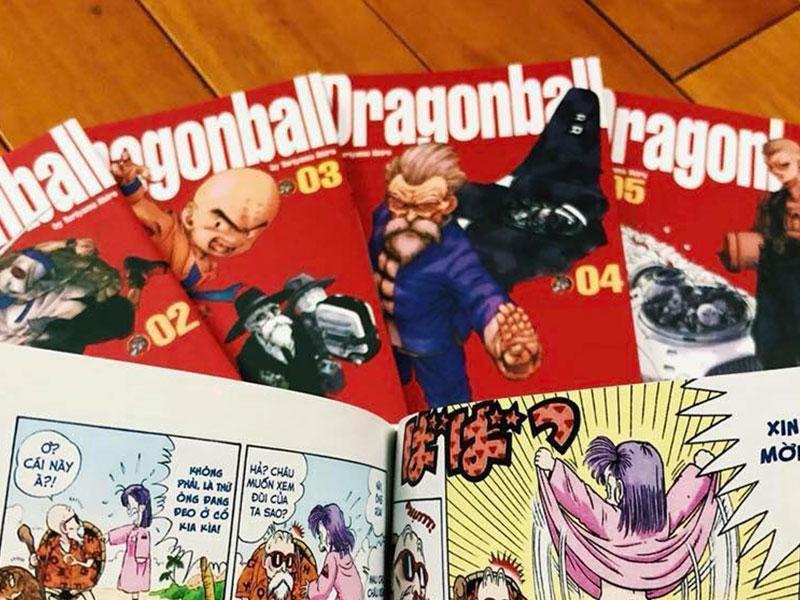 """【CẢNH BÁO】Hết【THÁM TỬ LỪNG DANH CONAN】94 bị lậu, đến lượt 【DRAGON BALL】""""được mời gọi"""" in ấn không bản quyền"""
