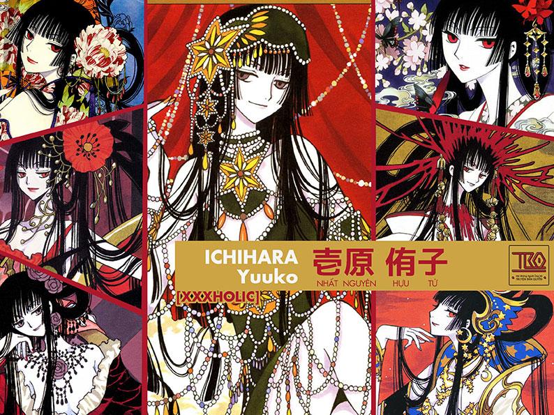 """【Ý NGHĨA TÊN NHÂN VẬT】Yuuko ICHIHARA trong """"XXXHOLIC"""""""
