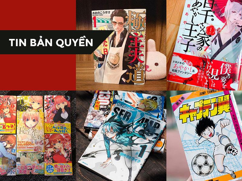 【TIN BẢN QUYỀN】Điểm mặt 5 tựa Manga được công bố bản quyền nhân dịp sinh nhật 62 năm của NXB Kim Đồng
