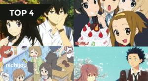 【TOP 4】Những Anime do KyoAni sản xuất mà tôi thích nhất