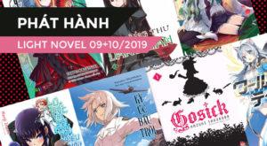 【PHÁT HÀNH】Danh Sách Light Novel Mới Trong Tháng 09 + 10/2019 (Phần 2)