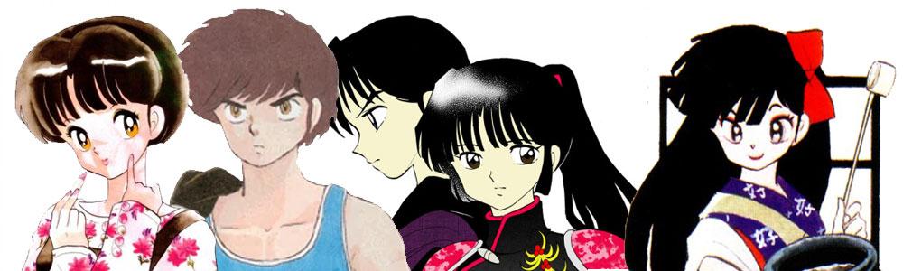 【TOP】Nhân vật được yêu thích (tạm thời) trong Mega-Poll của TAKAHASHI Rumiko sensei
