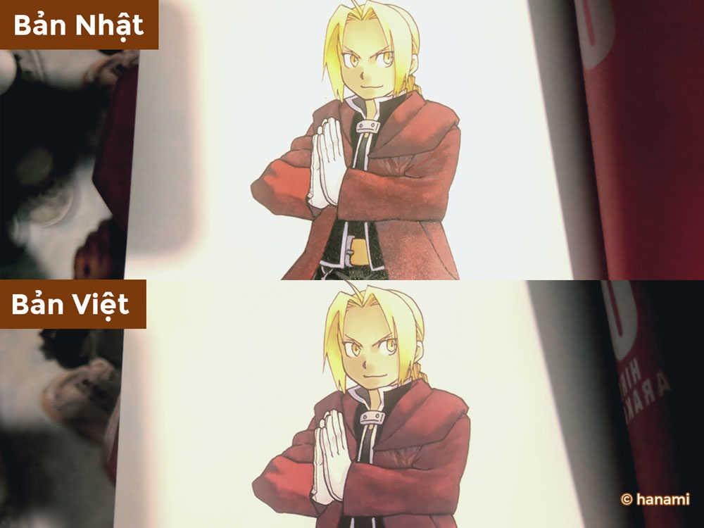 【REVIEW THÀNH PHẨM】[Fullmetal Alchemist - Cang Giả Kim Thuật Sư] (1) - 69k Vs 300k