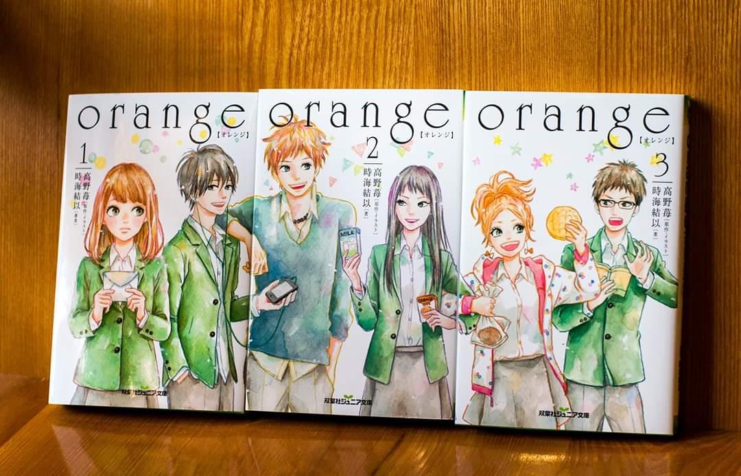 【REVIEW】Chuyện tình trong thế giới Light Novel - Phần 3: [Orange lá thư từ tương lai]