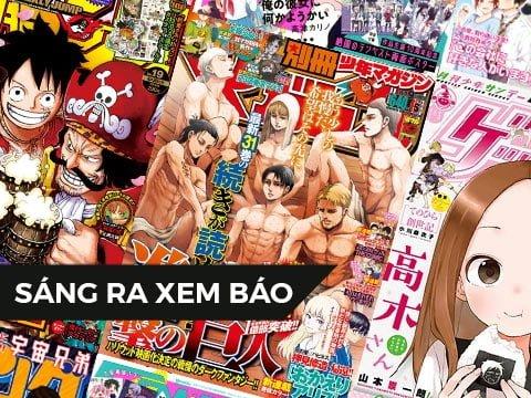 【SÁNG RA XEM BÁO】Bộ sưu tập ảnh bìa tạp chí manga 2020 – Tháng 4 – Shounen/Seinen (Phần 2)