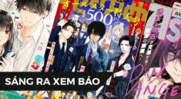 【SÁNG RA XEM BÁO】Bộ sưu tập ảnh bìa tạp chí manga 2020 - Tháng 4 - Shoujo/Josei (Phần 2)