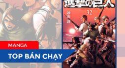 【TOP MANGA BÁN CHẠY】Tuần Thứ I / 9: Từ ngày 7/9 đến 13/9/2020