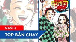 【TOP MANGA BÁN CHẠY】Tuần Thứ V / 11: Từ ngày 30/11 đến 6/12/2020